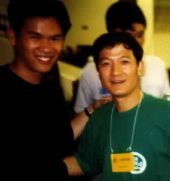 Master Hu Jiangqiang and Me.