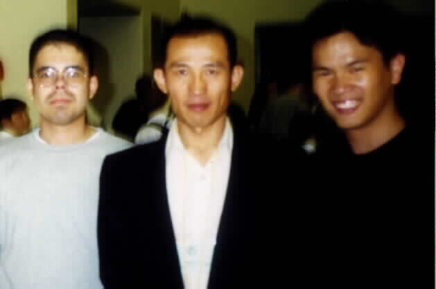 Master Shawn Liu and Me, with Ariel.